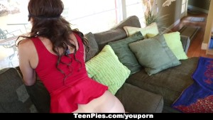 TeenPies - Girl Gets Creampied By Her Boyfriends Dad