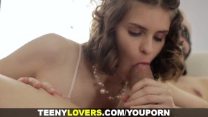 Teeny Lovers - Anal after kinky foreplay