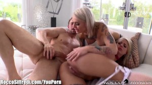 RoccoSiffredi Cumswapping Emo Sluts Anal 3Some
