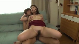 slut sex with brother on sofa