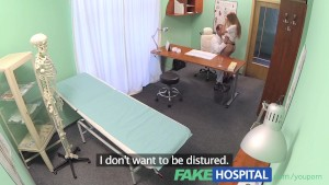 FakeHospital Nurse with a great arse sucks and fucks doctor for pay rise