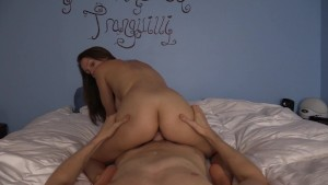 Riding YOUR cock reverse cowgirl til you cum on my ass