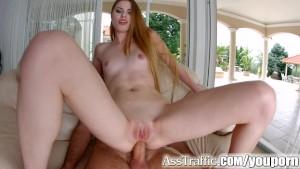 Asstraffic milena devi leggy brunette gets a dick in the ass 8