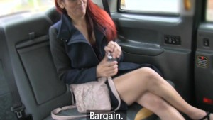 FakeTaxi Back seat porn model is taxi drivers sex fantasy
