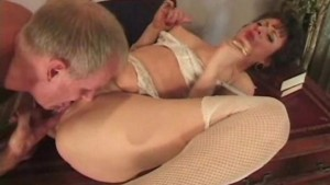Office table mature buttfucking