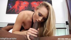 AJ Applegate rammed by big black cock
