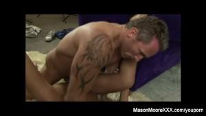 Mason Moore Fucking on the set