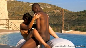 Exotic African lovemaking