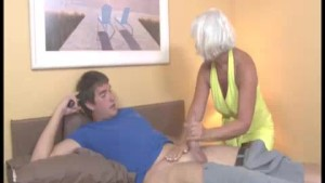 Horny Granny Gets Excited Seeing This Guy s shirt