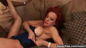 Redhead MILF s anal fantasy