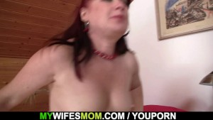 He fucks hot girlfriends mom in stockings