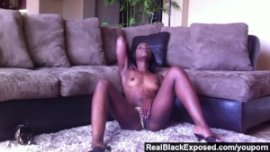 RealBlackExposed - Ana Fox Showing Her Tight Body on Webcam