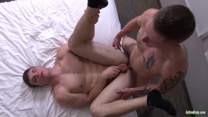 ActiveDuty Ivan James Fucked By Newbie Stud