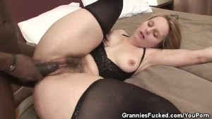 Hairy Pussy Granny Creampied