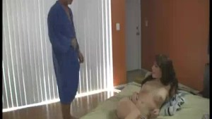 Old Man Gets Some Treat For Cock With Teen s Touch
