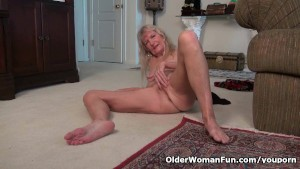 Grandma Claire s old pussy needs some attention