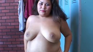 Sexy big belly BBW imagines you are fucking her fat pussy