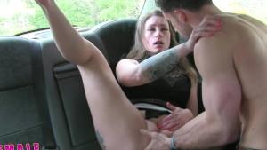 FemaleFakeTaxi Nervous farmer can t satisfy driver