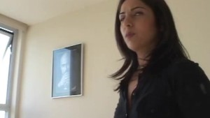 Hot Realtor MILF Uses Her Pussy To Make A Sale!
