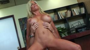 Bigtit Blonde Wife Diamond Foxxx Office Fuck