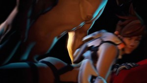 Tracer got game (Overwatch 3D)