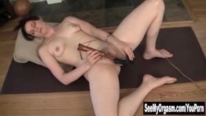 Sexy Savannah Having A Convulsing Orgasm