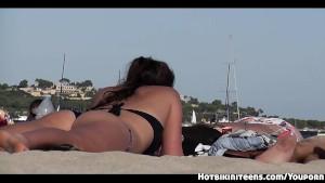 Sexy Bikini Beach Girls Voyeur Video HD