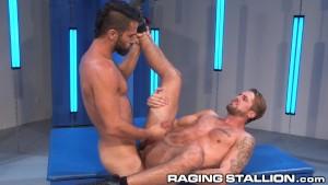 RagingStallion Cum Licking Hunk