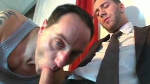 Full video: A innocent vendor guy serviced his big cock by a guy!