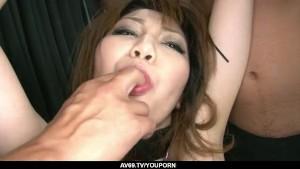 Nasty Yuria Kano enjoys having her pussy devoured