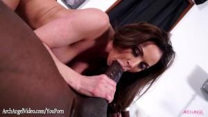 Kendra Lust taking Mandingo monster black cock