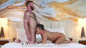 ManRoyale - Dirty Daddy Derek Parker Pounds Ethan Slade