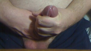 Cock Stroke with Cumload