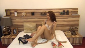 Pantyhose cam show with gorgeous Orrianax