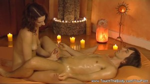 Massage with a Smooth Handjob