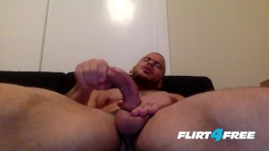 Marco Ducati Wants to Stroke His Big Monster Cock in Your Mouth