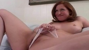 Little Dildo with a Huge Tits