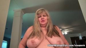 BBW milf Love Goddess needs getting off