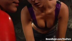 Hot Lesbian Slave In Bondage
