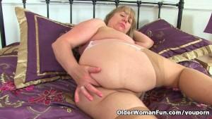 British granny Trisha loves fu