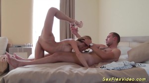 flexi sex contortion with a cu