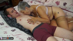 Aged Love Old lady Savana fuck