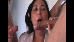 Deep throats and Double team for AshleyBlue