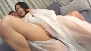 Kyoka Ishiguro endures dick and toys deep in her bush