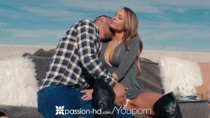 passion-hd – newyears fireworks by the fireplace with kendall kayden – Free Porn Video