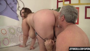 Big Tit BBW Takes a Thick Cock