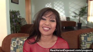 RealAsianExposed - Her first d