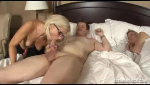 Milf Sneaks Into Young Mans Bedroom Late At Night
