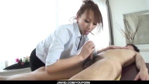 Sexy at the office along big tits, Anna Mizukawa