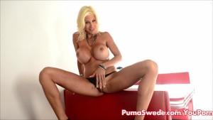 Puma Swede Wants to Cum For You!